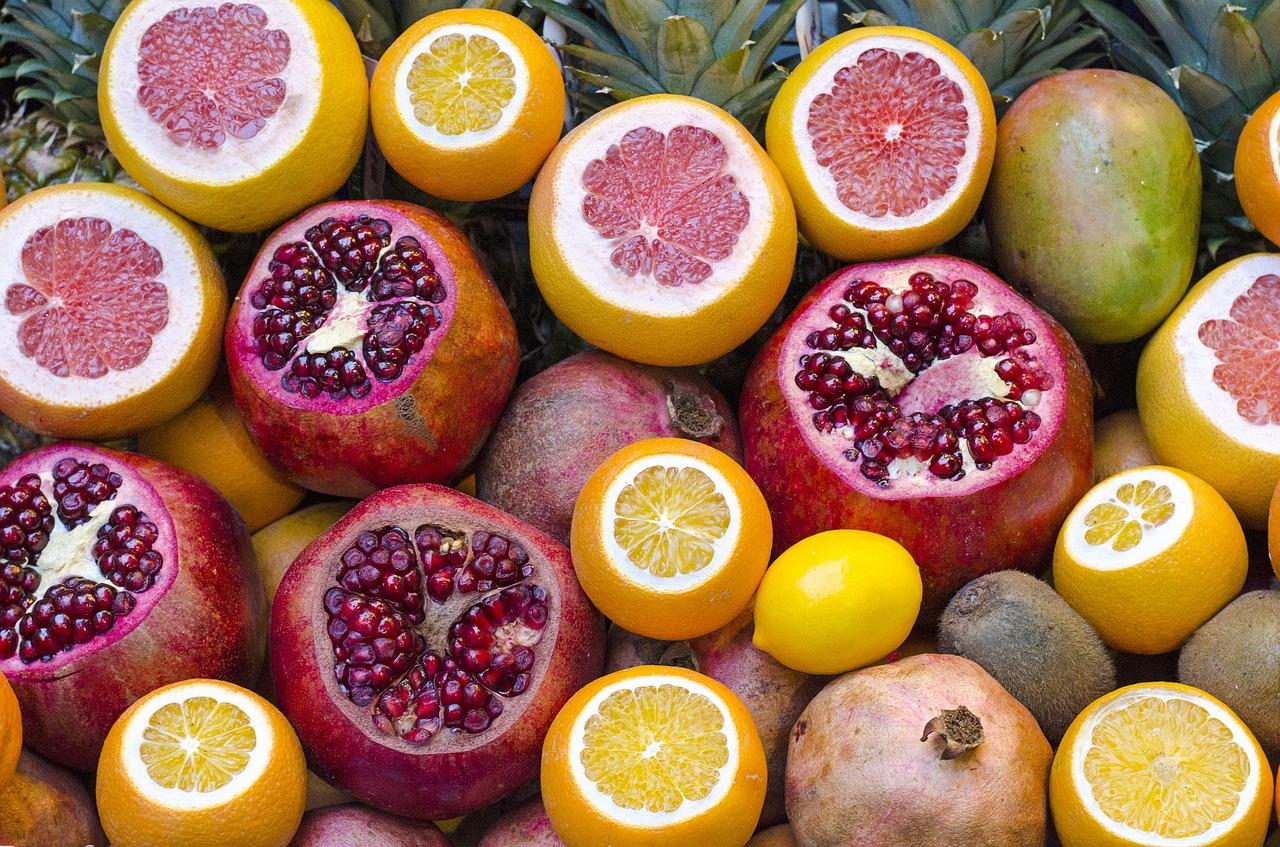 Zdrowie ukryte w owocach.
